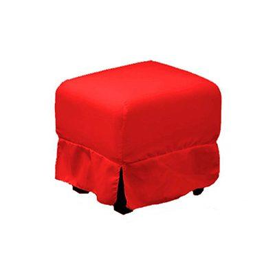 Alquiler de mobiliario para eventos. Banqueta-Agus-Standar-roja