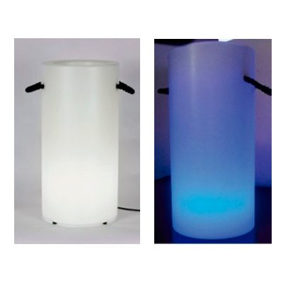 Bucket Light. Mobiliario retroiluminado