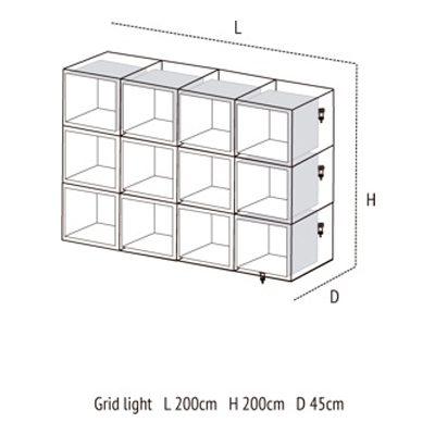 Medidas de Grid Light