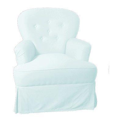 Alquiler de mobiliario chill out. Sillón Para ti Blanco