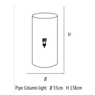 Medidas de Pipe Column