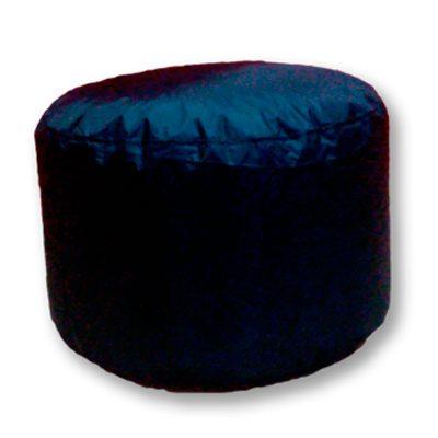 Alquiler de mobiliario para eventos. Puff-bahiano-grande-negro