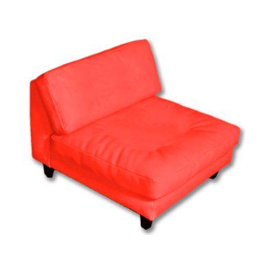 Alquiler de mobiliario para eventos. Aun 1 cuerpo rojo