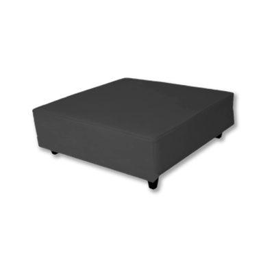 Alquiler de mobiliario. mesa puff mini negro