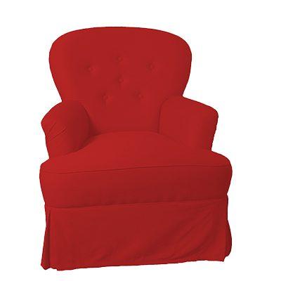 Alquiler de mobiliario chill out. Sillón Para ti rojo