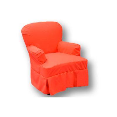 Alquiler de mobiliario para eventos. Parati rojo