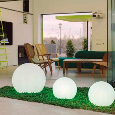 alquiler de Material retroiluminado. Sphere decoracion