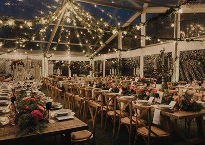 Cortinas de luces de led para fiestas y eventos