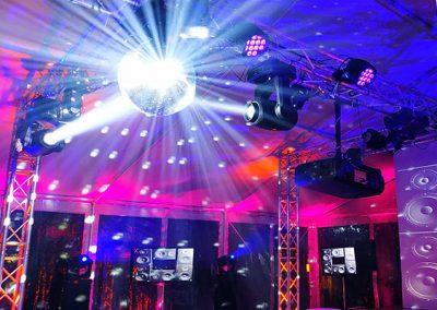 discoteca mapping con iluminacion espectacular