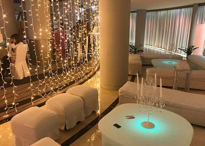 Cortinas de luces led para eventos